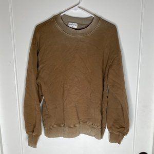 Cotton Citizen Long Sleeve Crew Neck Sweatshirt -S